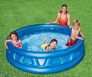 Надувной бассейн Soft Side, 58431