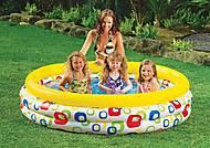 Надувной бассейн «Веселая геометрия», 58449, детские игрушки