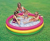 Надувной бассейн «Весёлая радуга», 57412, детские игрушки