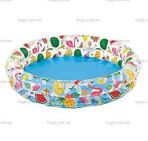 Надувной бассейн «Летнее настроение», 59421, купить