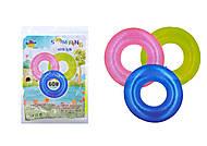 Надувной круг неоновый детский, TT14002-1, купить