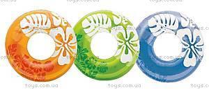 Надувной круг Clear Color, 59251, купить