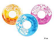 Надувной круг Clear Color, 59251