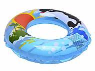 Надувной круг «Дельфин», 58245, фото