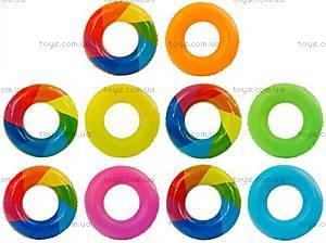 Надувной круг для купания, 60 см, 466-948