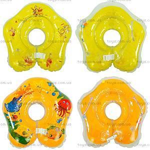 Надувной круг для младенцев, с ручками, 466-966A