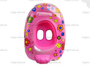 Надувной круг-лодочка для детей, BT-IG-0012, детские игрушки