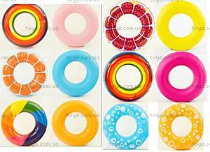 Надувной круг «Микс», 80 см, 466-950, фото
