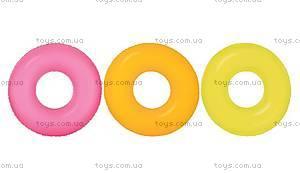 Надувной круг «Неоновый», 59262, купить
