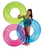 Надувной круг «Прозрачный», 59260, фото