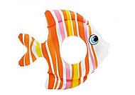 Надувной круг «Тропическая рыбка» оранжевый, 59223, цена