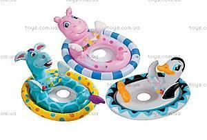 Надувной круг «Веселые зверьки», 59570, купить