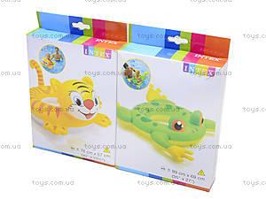 Надувной круг «Зоопарк», 58221, детские игрушки