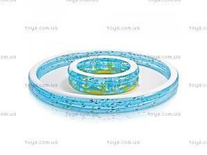 Надувной круглый бассейн,