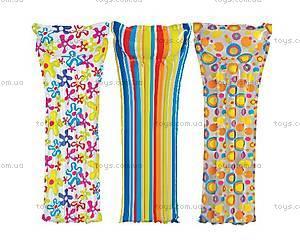 Надувной матрас «Модный принт», 59711, купить
