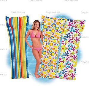 Надувной матрас «Модный принт», 59711