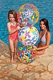 Надувной мяч «Модный принт» большой, 59050