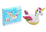 """Надувной плавающий держатель для напитков """"Единорог"""" , 57506, toys"""