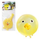 Надувной шарик «Цыпленок», A212-617, опт