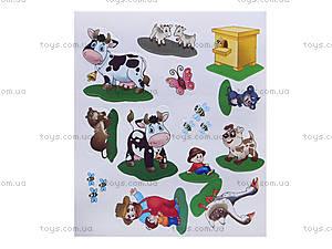 Наклейчики «Животные в деревне», А234005Р, цена