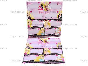 Наклейки для тетрадей Barbie, BRAB-US1-STCR-BL16, отзывы