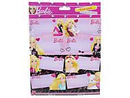 Наклейки для тетрадей Barbie, BRAB-US1-STCR-BL16, фото