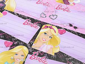 Наклейки для тетрадей Barbie, BRAB-US1-STCR-BL16, цена