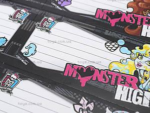 Наклейки для тетрадей «Монстер Хай», MHBB-US1-STCR-BL16, фото