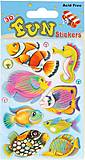 Наклейки мягкие 3D «Рыбки», S-407, купить