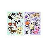 Объемные наклейки «Собачки-Кошечки», S-406