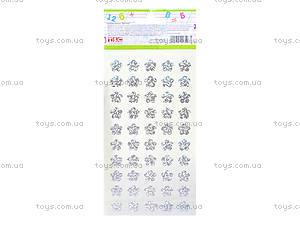 Наклейки учительские «Цветочки», 951171, фото