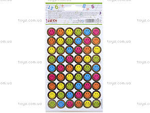 Учительские наклейки «Смайлики», 282 штук, 951173, купить