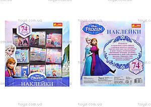 Наклейки для девочек «Фрозен», 74 штуки, 9780