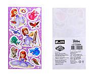 Наклейки для детей «Дисней: Принцессы», 8817