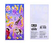 Наклейки «Принцессы», 8820, отзывы