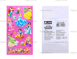 Наклейки для детей «Принцессы», 8821