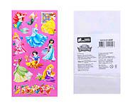 Наклейки для детей «Принцессы», 8821, отзывы