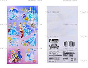 Наклейки для деток «Принцессы», 8823
