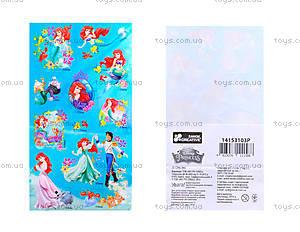Наклейки «Принцессы» для детей, 8824