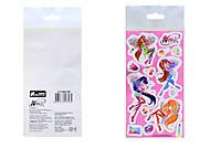 Детские наклейки «Винкс», набор №1, 9916, отзывы