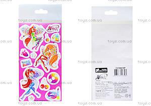 Детские наклейки «Винкс», набор №2, 9917