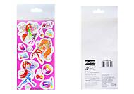 Детские наклейки «Винкс», набор №2, 9917, фото