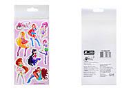Детские наклейки «Винкс», набор №4, 9919, купить