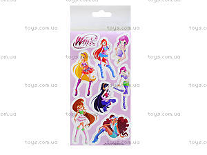 Детские наклейки «Винкс», набор №4, 9919, фото