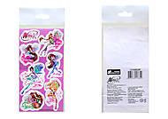 Детские наклейки «Винкс», набор №8, 9923, купить