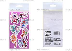 Детские наклейки «Винкс», набор №9, 9924
