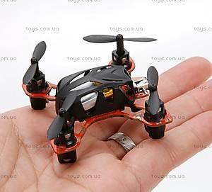 Нано-квадрокоптер Velocity, черный, WL-V272b, цена