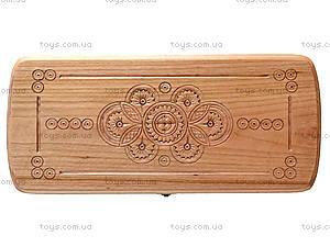 Деревянные нарды резные, 171883, купить