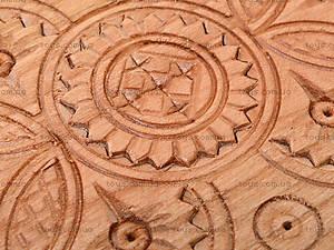 Деревянные нарды резные, 171883, фото