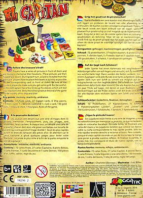 Настольная игра El Capitan, 40181, фото